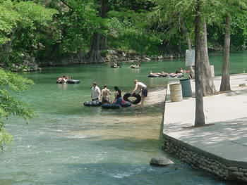Gruene Tubing on the Guadalupe River